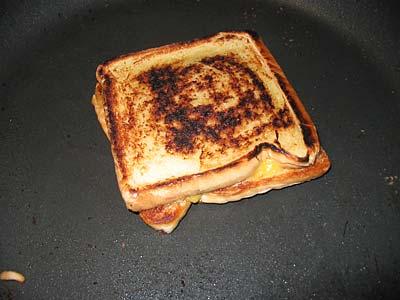 finished sandwich