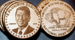 One Trillion Dollar Ronald Reagan National Debt Token